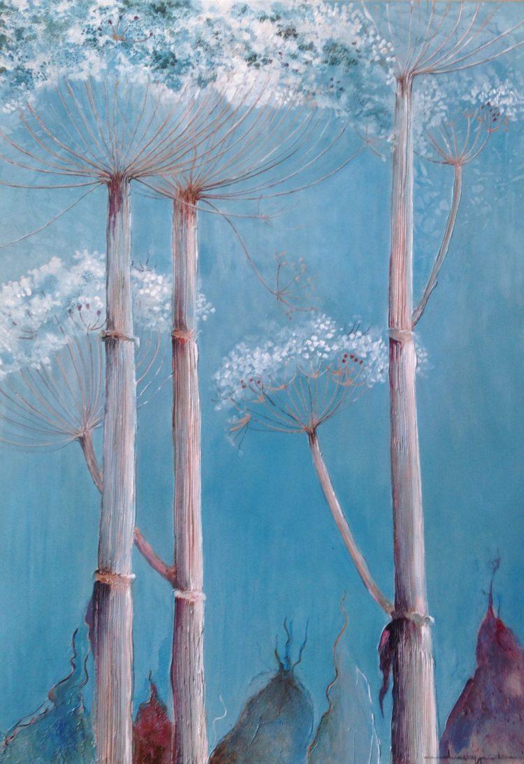 Acryl,100x80 cm, prijs op aanvraag