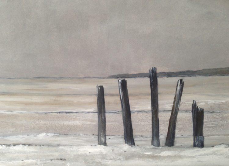 Acryl op doek, 60x90cm, prijs op aanvraag