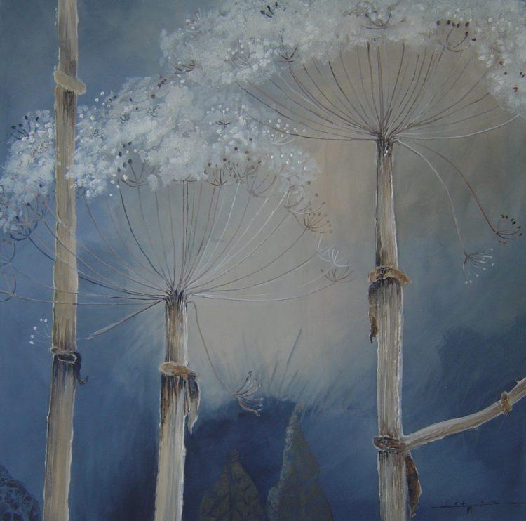 Acryl, 80x80 cm, verkocht